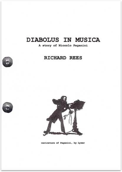 Diabolus in Musica, A Story of Niccolo Paganini